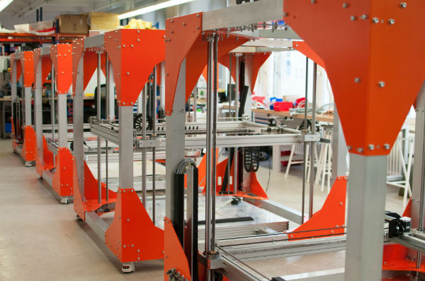 large format 3D printers by BigRep