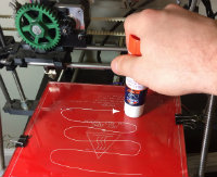 3D printing adhesion
